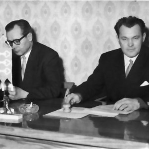 Maalaiskunnan valtuuston viimeinen kokous 1958
