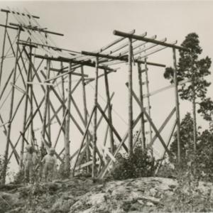 Heikkilänkylän hyppyrimäki 1961